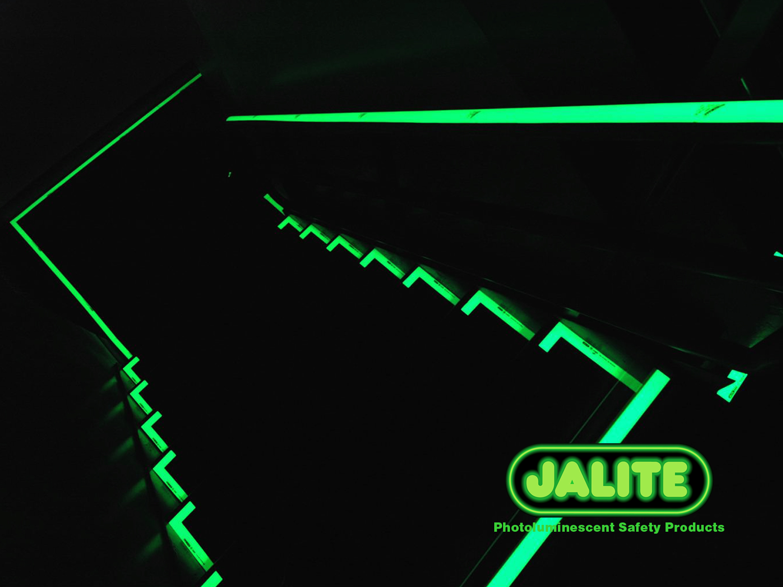 JALITE photoluminescent safety products